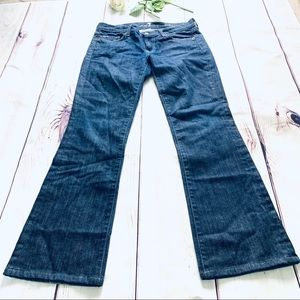 7 for all mankind sz 29 boot cut denim jeans